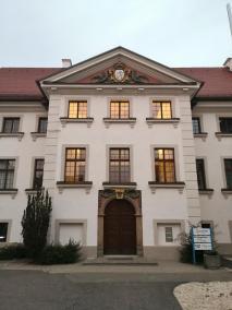 Das Rathaus von Gammertingen
