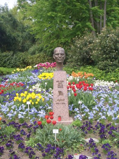 Denkmal für Lennart Bernadotte (Foto Daniel Hüneborg | http://commons.wikimedia.org | Lizenz: CC BY-SA 3.0 DE)