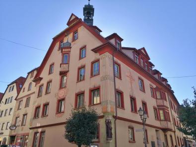Das Fidelishaus am Schloss