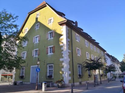 """Der historische """"Fruchtkasten"""", heute Sitz des Stadtmuseums"""