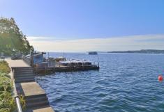 Blick von der Seerpromenade auf den Bodensee