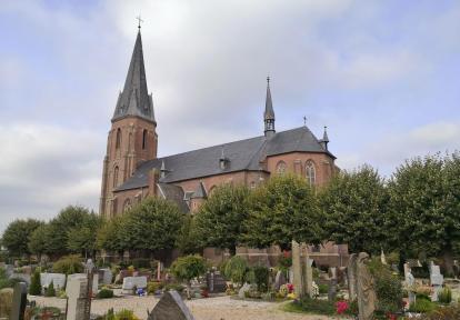 Die Kirche von Rindern