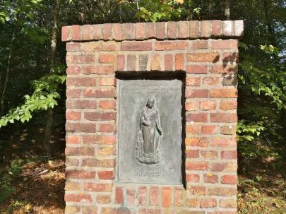 Gedenkstein für die Heilige Barbara, Schutzpatronin der Bergleute