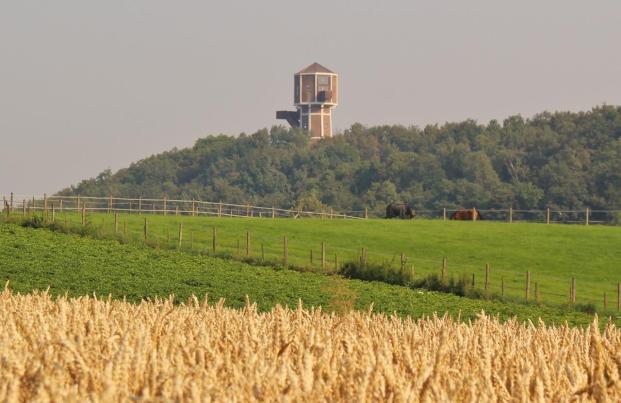 Blick zum Wasserturm Rimburg (Foto Richard Barendse | http://commons.wikimedia.org | Lizenz: CC BY-SA 3.0 DE)