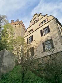 Bergfried und Herrenhaus des Schlosses