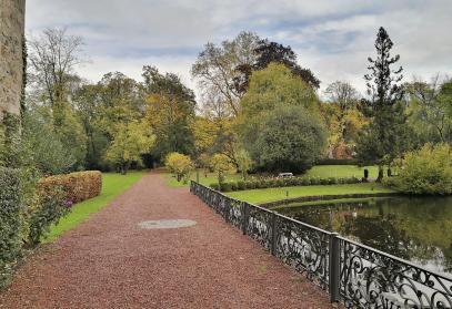 Park von Schloss Hugenpoet