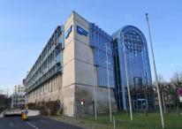 WDR-Funkhaus neben dem NRW-Landtag
