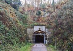 Der ehemalige Bahntunnel unter dem Schulenberg