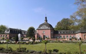 Unser Startpunkt: Schloss Wickrath