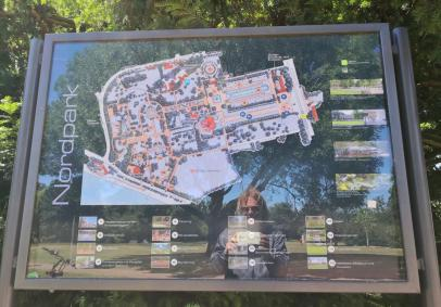 Übersichtskarte des Parks
