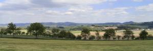 Panoramablick von den Höhen zwischen Heggen und Silbecke