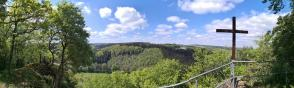 Panoramablick von der Stolzenburg