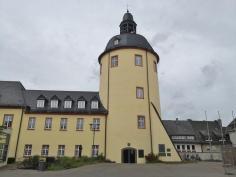 """Der """"Dicke Turm"""" am Unteren Schloss"""