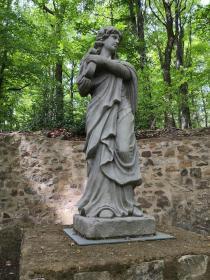 Statue am Wiesenteich
