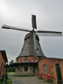 Die 150 Jahre alte Kornmühle vor den Toren der Stadt