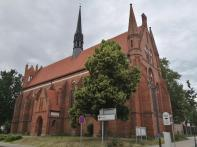 St. Johannis-Kirche des früheren Franziskanerklosters, Südansicht