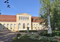 Die frisch rekonstruierte Orangerie