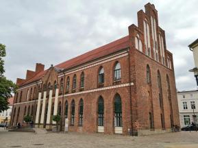 Rathaus am Alter Markt, Seitenansicht