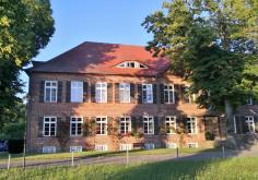Das Gutshaus in Ludorf, heute ein Hotel und Restaurant