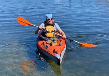 Ich und mein geliebtes Faltboot