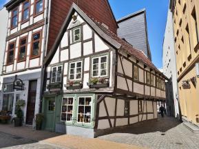 Hübsches kleines Fachwerkhaus von 1698 in der Altstadt