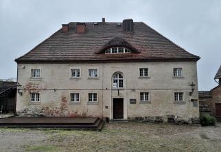 Gasthof im Innern der Burg