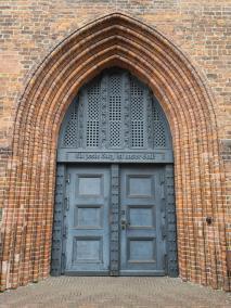 Portal der St.-Petri-Kirche