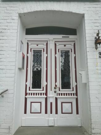 Hübsche Tür in Blankenberg