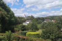 Blick auf das Kloster Merten