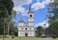 Die Kirche im früheren Barockkloster Merten
