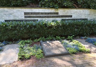 Mahnmal für die von der Gestapo erschossenen Nazi-Gegner am Wenzelnberg