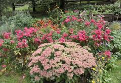 ... mit schönem Bauerngarten