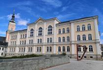Die Bibliothek beherbergt heute die Lessingschule