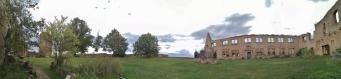Panoramabild von der Gleichenburg