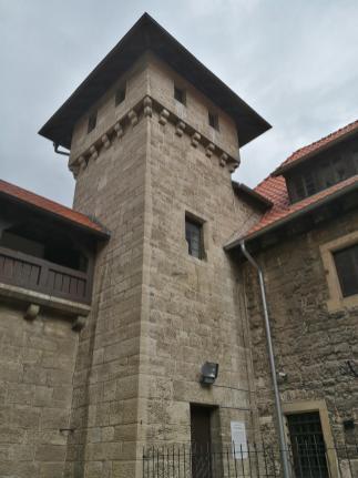 Bergfried der Wachsenburg, Innennansicht