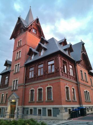 Prächtige Villa an der Straßberger Straße