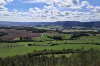 Blick vom Berg Liske in Richtung Südwesten