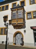 Erker am Hiltmannschen Haus am Blankenburger Tor