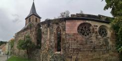 Ruine der Widenkirche in Weida