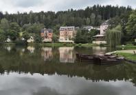 Louisa-See (Gondelteich) am Rosengarten