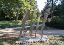 Kunstwerk im Hans-Gottfried-Bernrath-Park