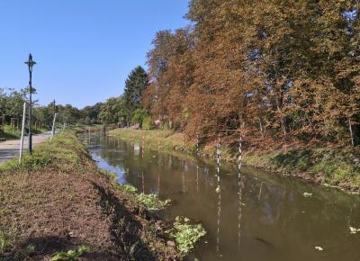 Kajak-Wildwasser-Strecke