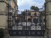 Tor des Kaiserlichen Post- und Telegrafenamts