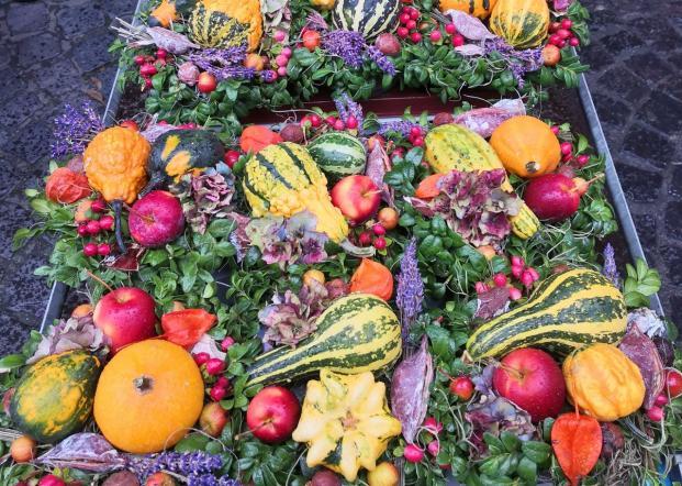 Auf dem Herbstmarkt in Neuss