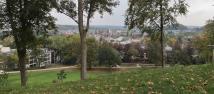 Blick hinunter nach Siegburg