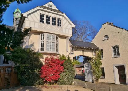Toreinfahrt zum Innenhof des Ritterguts