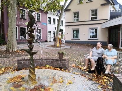 Gänsebrunnen in der Kirchstraße