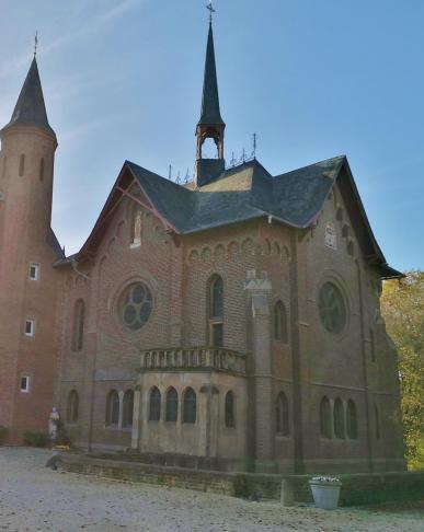 Die von dem Kölner Architekten Vincenz Statz entworfene Kapelle