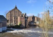 Die BRATA-Mühle an der Erft bei Neuss-Weckhoven