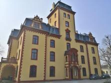 Frontseite von Schloss Wachendorf